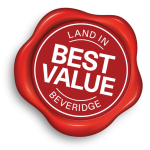 Glenmore - best value land in Beveridge